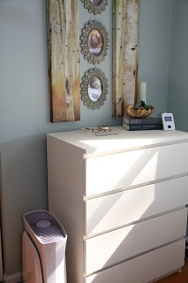 Food, Laughter and Happily Ever After: Master Bedroom: Annie Sloan Chalk Paint on an IKEA Laminate Dresser