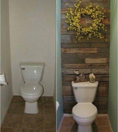 küçük tuvaletleri kasvetli havasından kurtaralım
