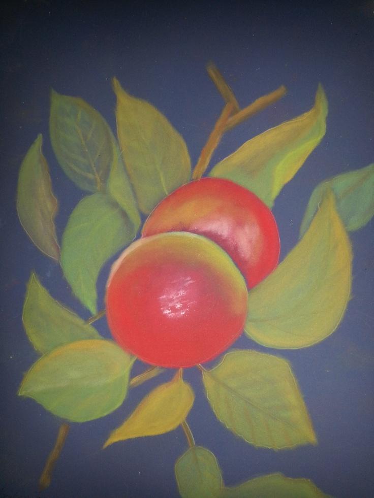 Apples - pastels