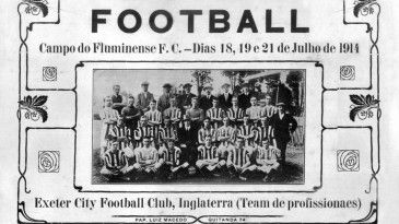 A formação da primeira seleção brasileira de futebol | Os amistosos contra os times ingleses e a primeira competição oficial contra o selecionado argentino.