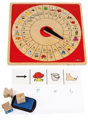 * Haal meer uit Letterrondo | Spelvariant 2 | Letters en woordjes stempelen