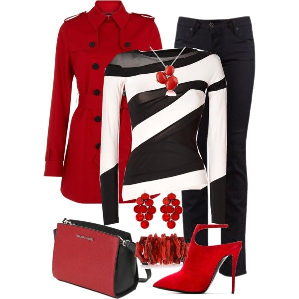 270 best Black White and Red Outfits images on Pinterest ...