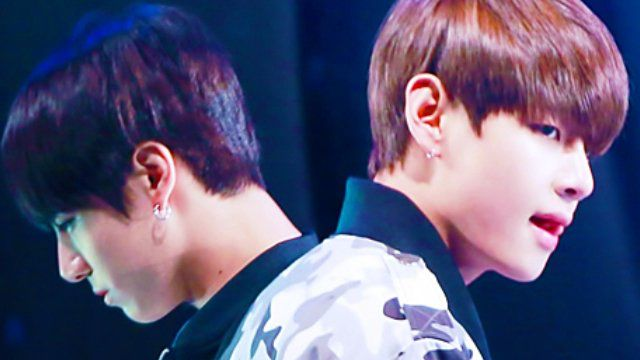 Taehyung feels neglected by Jungkook when he sees him with