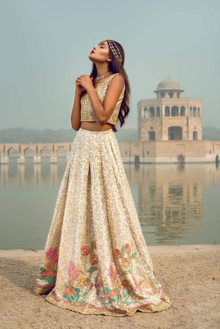 Pakistani fashion : pakistanifashionedits: Nimrah Khokhar The Golden...