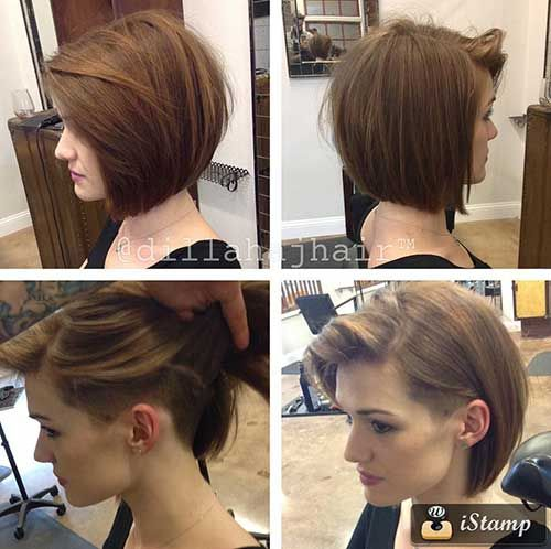 25+ best ideas about Undercut bob on Pinterest | Short ...
