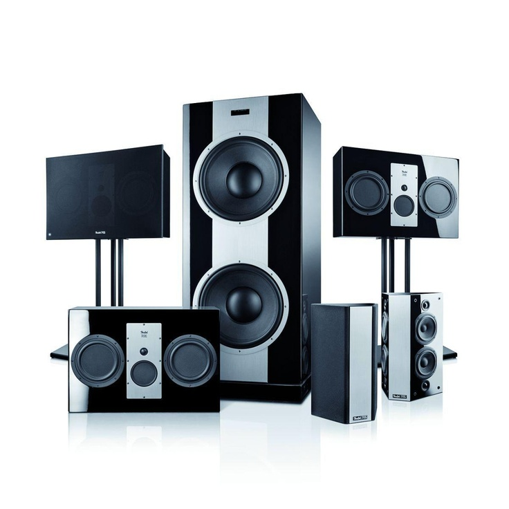 Teufel speaker system 10 thx ultra 2 certified cinema 5 - Thx home cinema ...