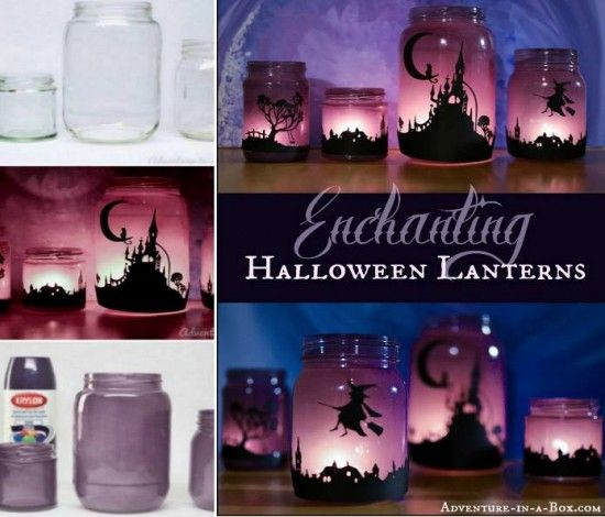 Halloween Jar Lantern Craft Is An Easy DIY To Try | The WHOot