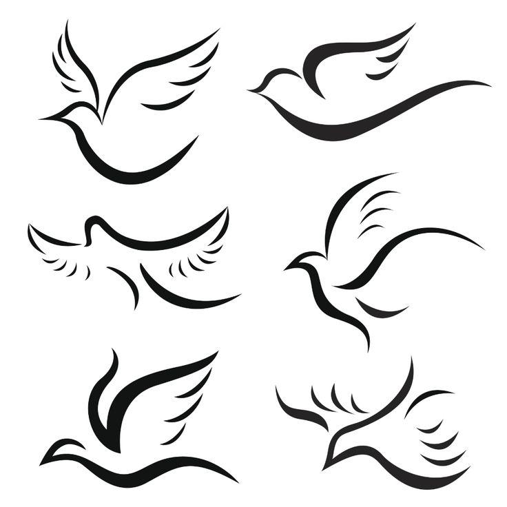 tatuagens de pombas da paz - ❤️vanuska❤️
