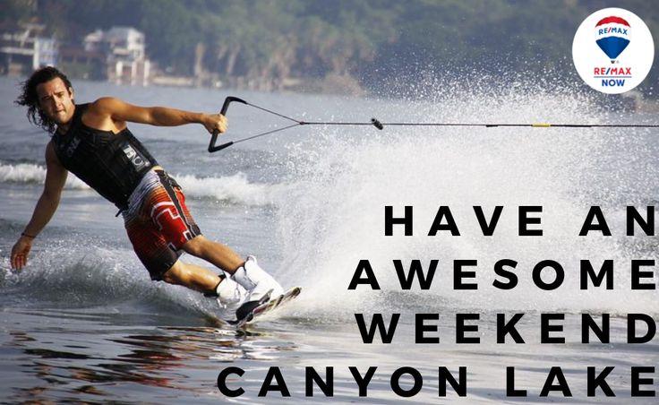 Have an Awesome Weekend Canyon Lake! Kitesurfing