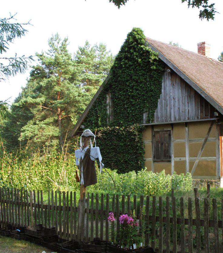 Chałupa w Parku Etnograficzny we Wdzydzach Kiszewskich