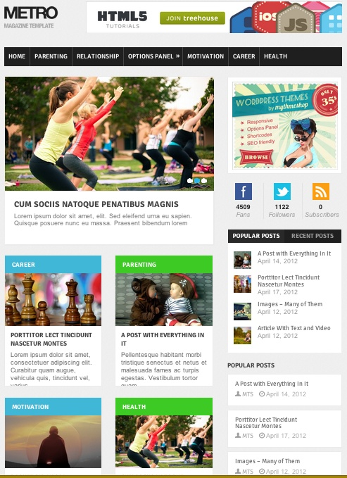 Website Template 12 Best Metro Style Website Templates Images On Pinterest  Metro