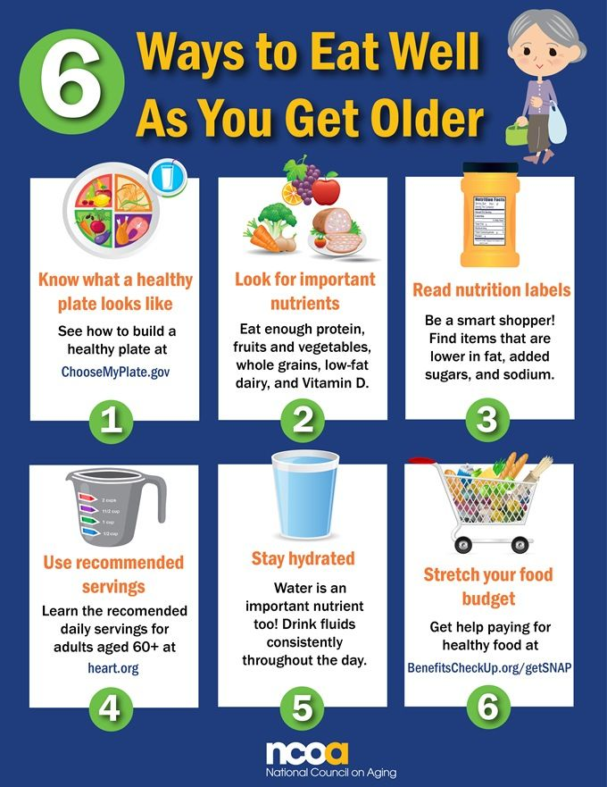 Healthy Eating For Seniors - Senior Nutrition