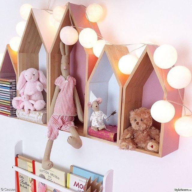 Bebek odalarına neşeli raflarımız