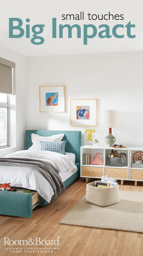 Add color and smart storage to your kids' bedroom with our modern collection of kids furniture and accessories.