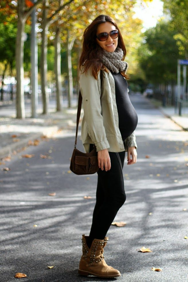 Pregnant Street Style: 35 Cool Outfits to Rock While Expecting | StyleCaster