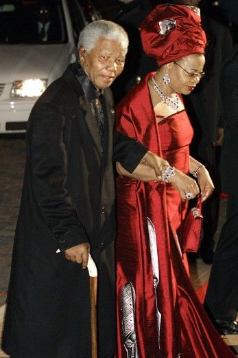 An Affair to Remember Mandela married his current wife Graca Machel, the widow of the former president of Mozambique, on his 80th birthday. Here they attend celebrations for his 85th birthday.