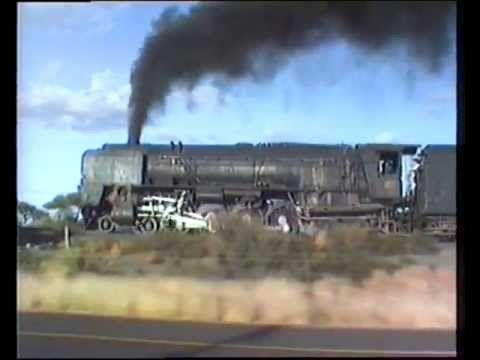 South African Railways Class 25NC near SPYFONTEIN 1985