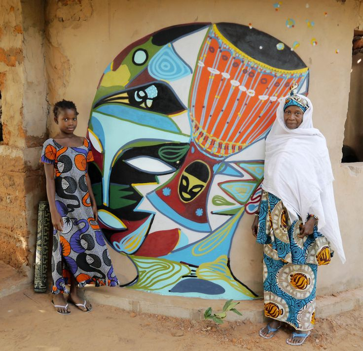 """wide open walls""Banjul/ kUBUNEH Rimon Guimarães Gambia 2013"
