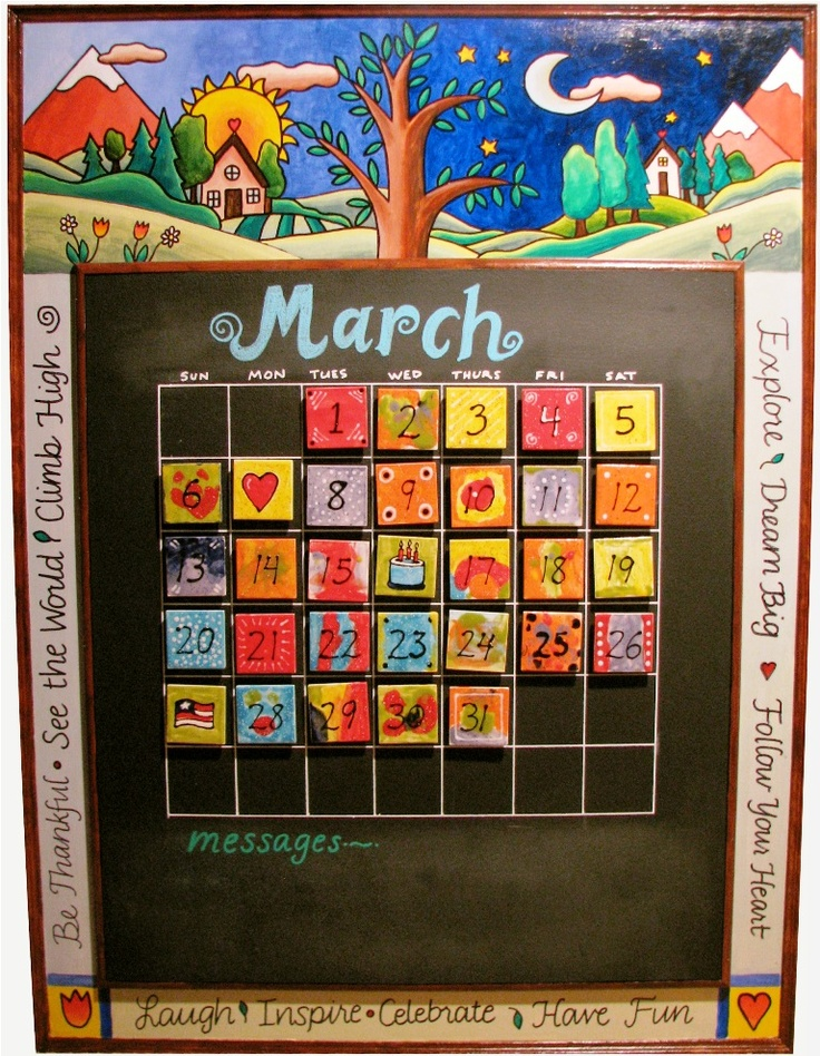 Ideas For Calendar Art : Best images about auction ideas on pinterest class