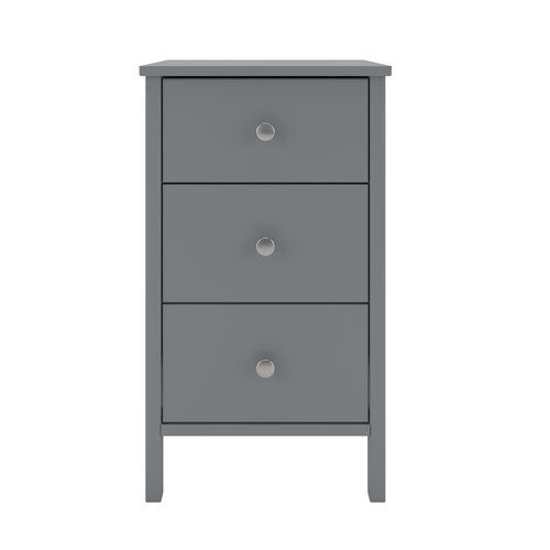 Marlow Home Co Tennessee 3 Drawer Bedside Table 3 Drawer