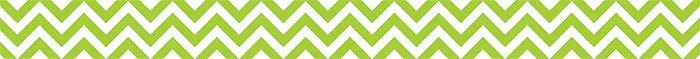 New Chevron Collection. Lime Green Chevron Border