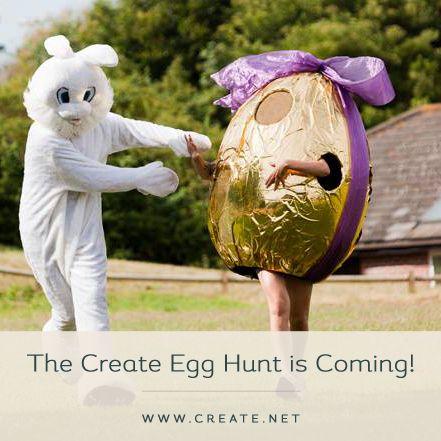 It's coming... The Great Create Egg Hunt. Learn more at www.create.net/egghunt #egghunt #easter #winanipad #freebie #ipad #competition #greatcreateegghunt