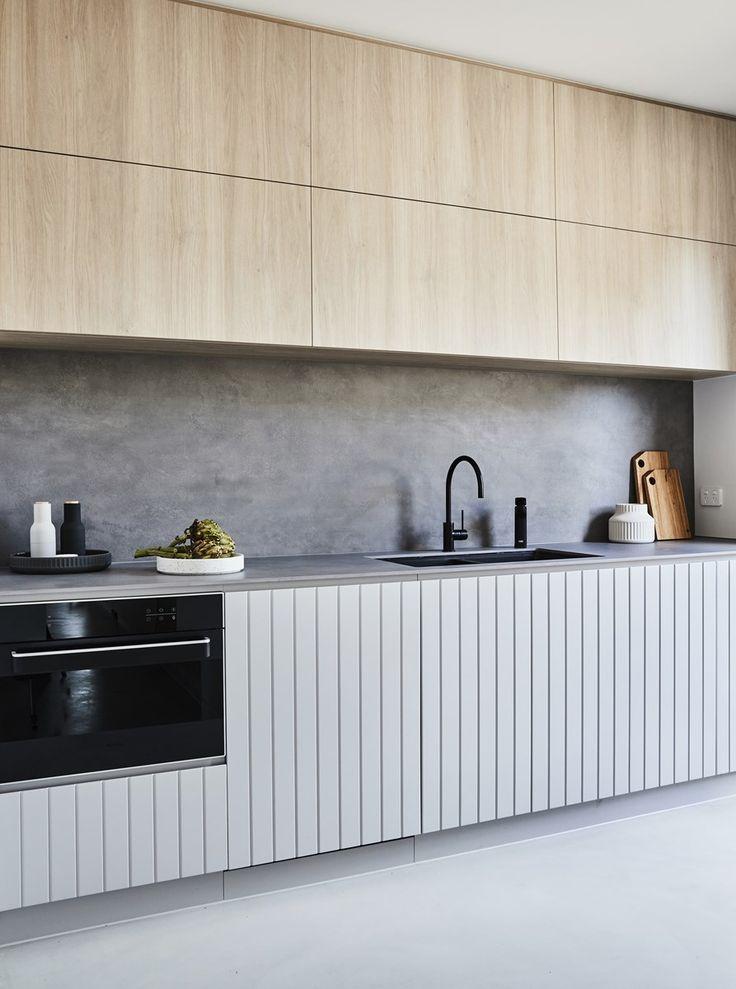12mm COSTA CONCRETO SIX Splashback Amp Benchtop Thomas Archer Homes Aimee Tarulli Stylist