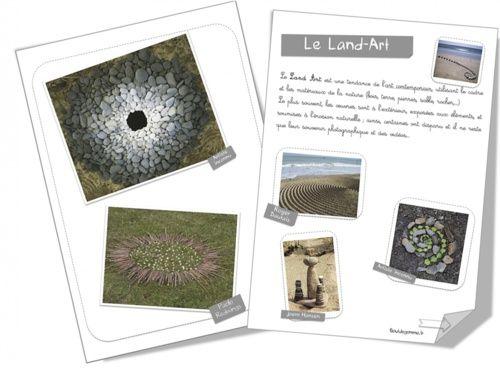 Land art / intervenir sur son milieu