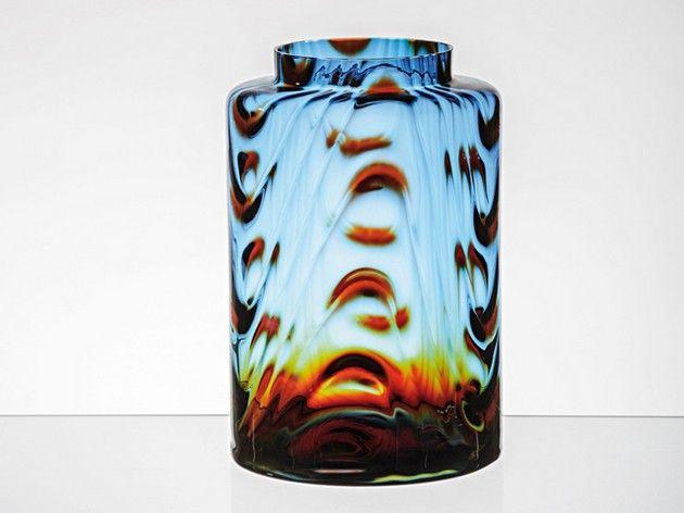 Hlava Pavel (1924 - 2003) | Váza s optiškou, 60. léta 20. stol. | Aukce obrazů, starožitností | Aukční dům Sýpka