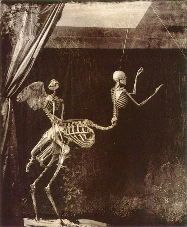 Joel-Peter Witkin (American, b. 1939) Cupid and Centaur                                                                                                                                                                                 More