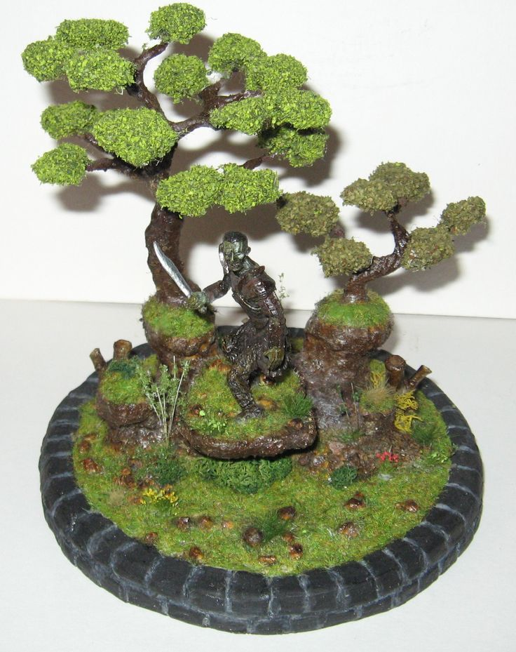 Diorama Ork , Lord of the Rings