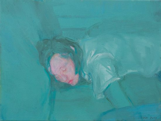 Pink Face | STATION GALLERY -  Seraphine Pick