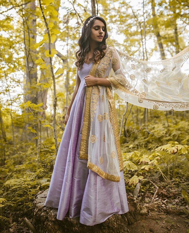 We had the pleasure of working with these creative souls and couldn't be happier Model: @happyjazan Photography: @saini MUAH: @brushesnblushes Outfit: @poppy.lane.to . Diva Anarkali x Candy Tuft Dupatta