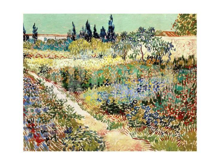 The Garden at Arles, 1888 Giclee Print by Vincent van Gogh at Art.com