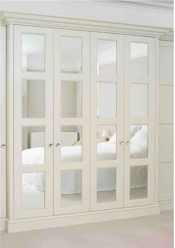 glass paneled closet doors . the english wardrobe company
