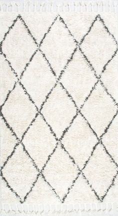 A plush Marrakesh Shag that's sure to feel soft on your feet! Click to find more Rugs USA cozy shag rugs!