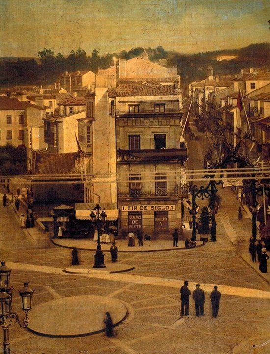 Mejores 271 im genes de vigo antiguo en pinterest fotos antiguas ciudad y espa a - Hotel puerta del sol vigo ...