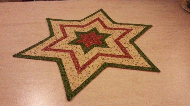 Centro tavola in patchwork