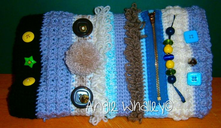 4th Crocheted Twiddlemuff :)