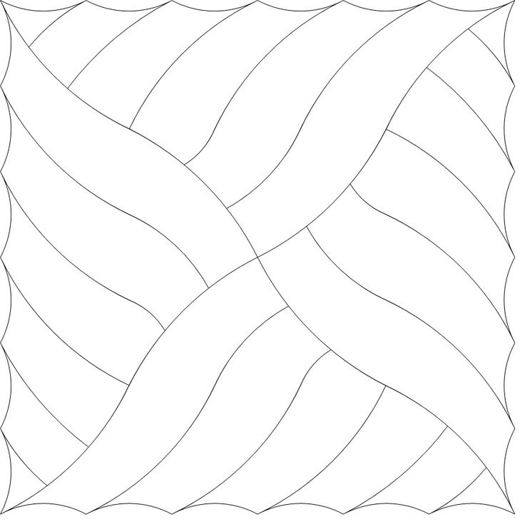 Curve Hill Fill - 302 i see a quilt block