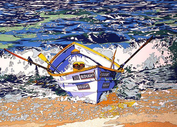 THE BOAT WITHOUT LIFE SAVER - Eizin Suzuki 1991