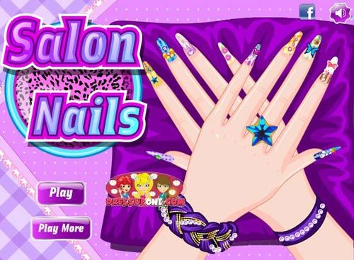 Top 25 Nail Art Games For Girls