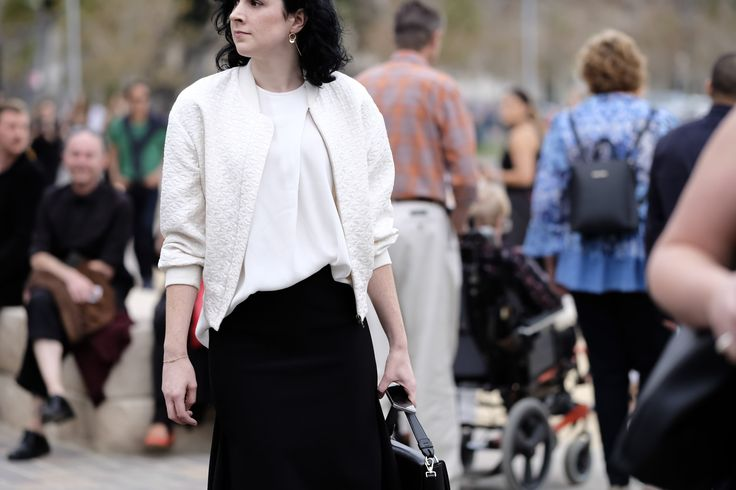 Incredible Street Style From the First Day of Australian Fashion Week | StyleCaster