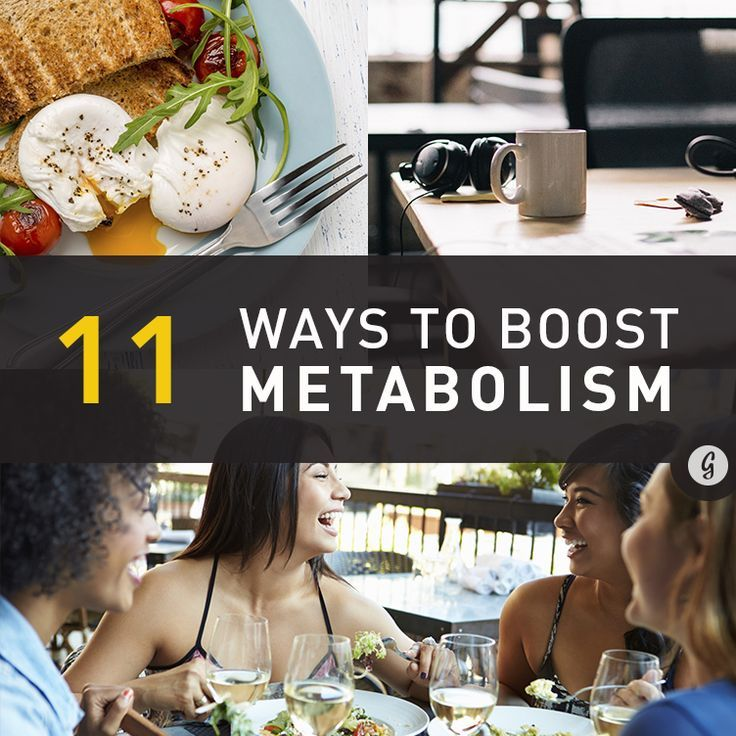 11 Science-Backed Ways to Boost Metabolism #health #metabolism #energy #greatist