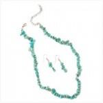 Turquoise Jewelry Set priced @ $11.95