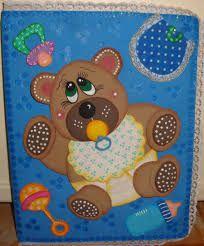 Resultado de imagen para como hacer carpetas decoradas para control prenatal