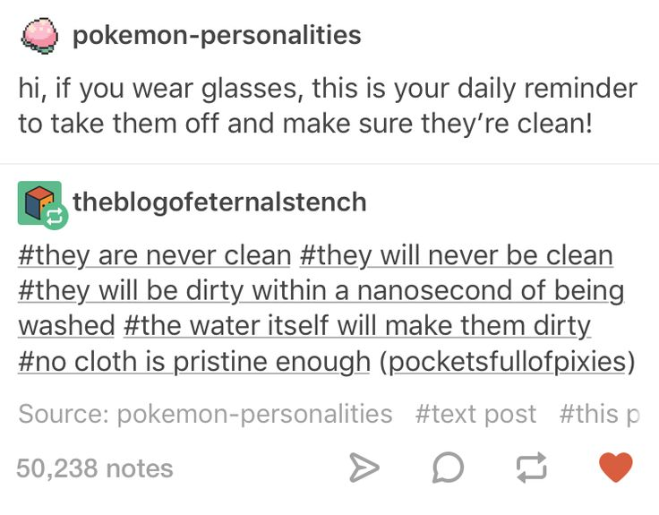 Anyone who says they can keep their glasses clean is a LIAR.