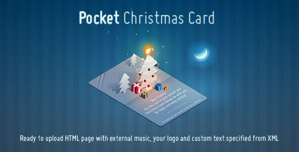 Pocket Christmas Card