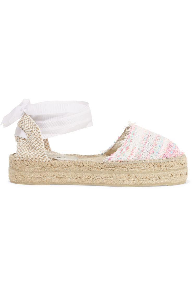 Shop on-sale Manebi Woven canvas espadrilles. Browse other discount designer Espadrilles & more on The Most Fashionable Fashion Outlet, THE OUTNET.COM