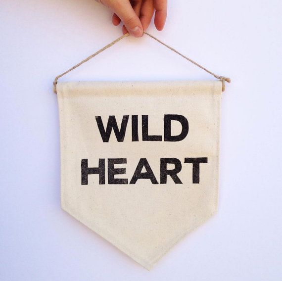Wild Heart Banner - the Diggingest Girl
